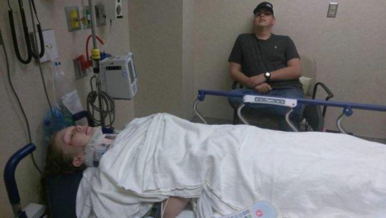 Cienna Cook moest worden opgenomen in het ziekenhuis