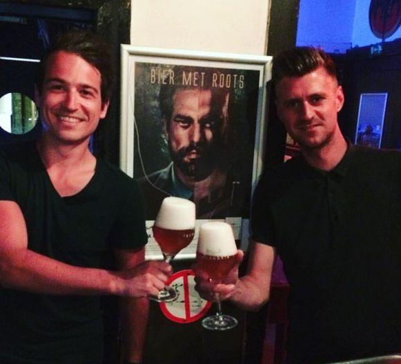 Steff Hesbeens en Michaël Cordie van Taxandria.