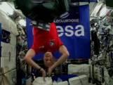Astronaut geeft live dj-set vanuit de ruimte