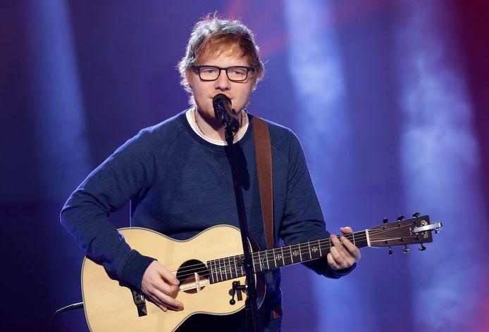 De populaire zanger Ed Sheeran.