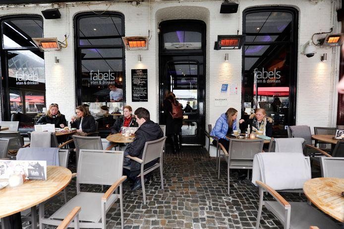 Restaurant Fabels aan de Oude Markt. Foto ter illustratie.