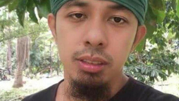 Moammar Askali, ofwel 'Abu Rami'. Beeld Afbeelding vrijgegeven door Filipijnse leger