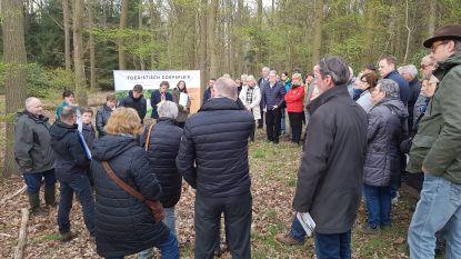 """Buurtbewoners maken kennis met plannen voor kasteelpark De Merode: """"Ziet er mooi uit, maar rekening houden met mobiliteit en natuur"""""""