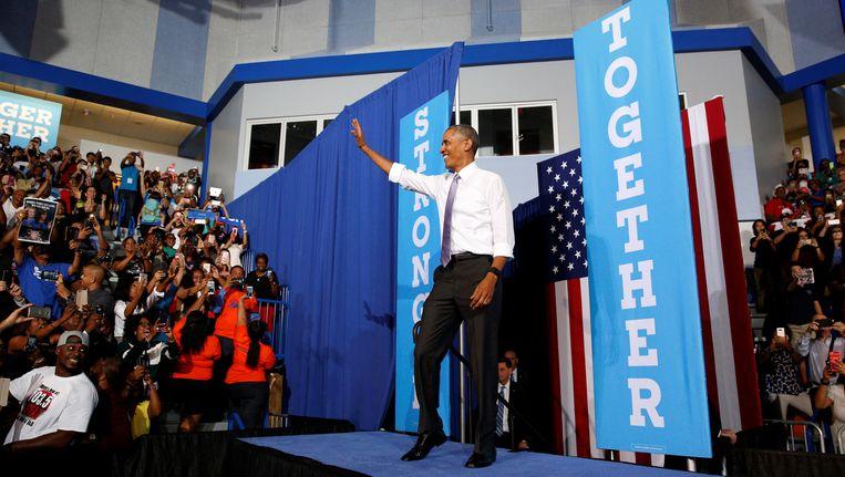 Obama in Forida. Beeld reuters