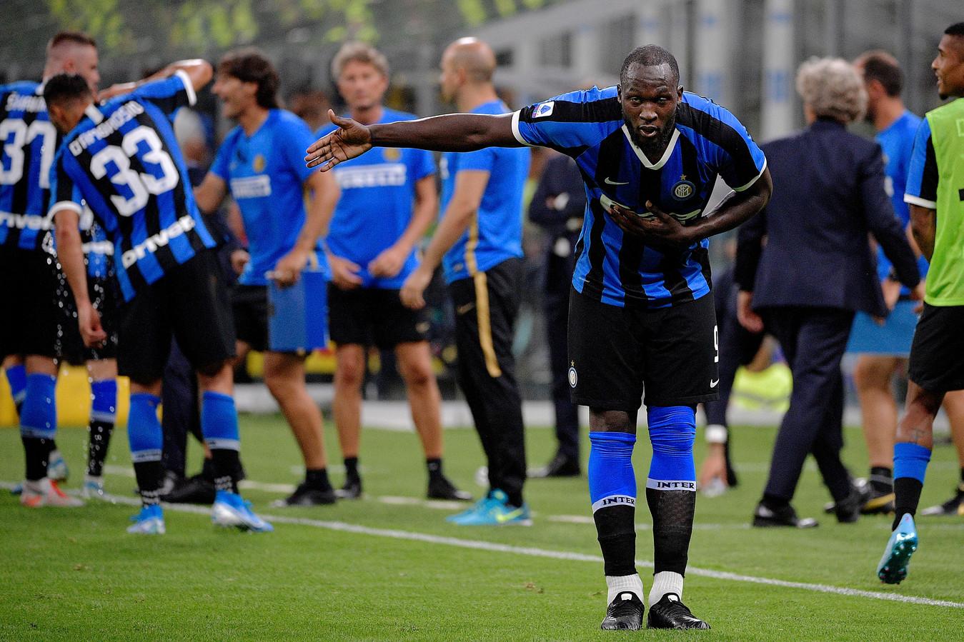 Romelu Lukaku scoorde in zijn eerste twee duels voor Internazionale.