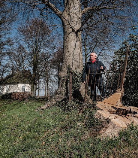 Op zoek naar sporen van het verdwenen Huis Sinderen