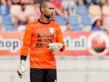 RKC-keeper Jordy Deckers blijft nog even 'backstage'