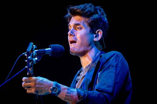 John Mayer in concert in de Ziggo Dome.
