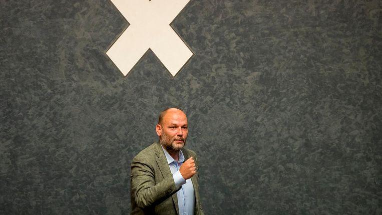 Wethouder Rutger Groot Wassink spreekt van een 'onrechtvaardigheid die hersteld moet worden'. Beeld anp