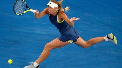 """Wozniacki trekt in bloedvorm naar halve finale tegen Elise Mertens: """"Ik kijk uit naar de partij"""""""