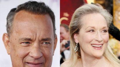 Twee filmgiganten in één prent: Tom Hanks en Meryl Streep in 'The Post'