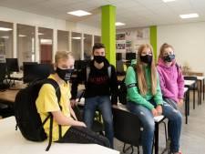 Een mondkapje? Lang niet alle leerlingen dragen het op school