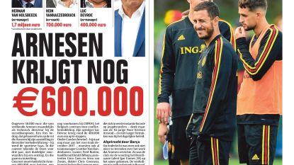 Arnesen krijgt nog €600.000