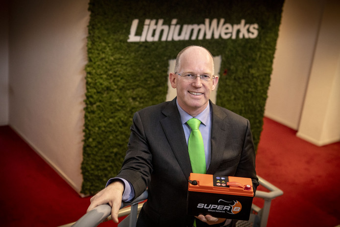 Kees Koolen, directeur Lithium Werks.