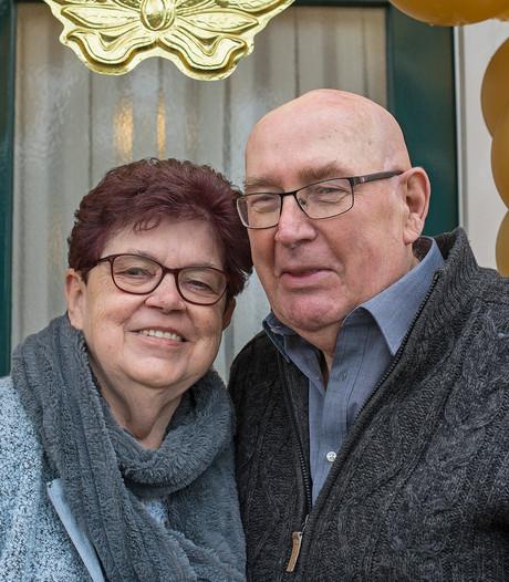 Gouden huwelijk voor Petjes Bar-echtpaar Herman en Riek Voet