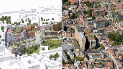Groen park op de nieuwe Hertogensite bijna twee keer zo groot als Ladeuzeplein