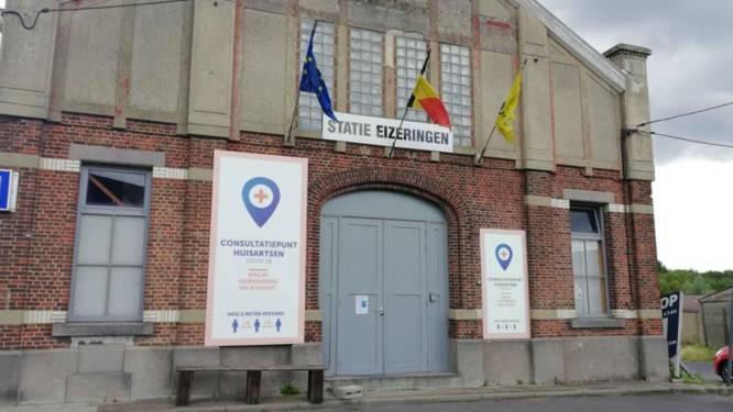Hoogrisicocontacten worden opnieuw getest met code én op afspraak in triagecentrum Eizeringen