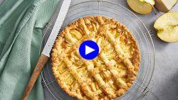 Combineer twee taarten tot deze herfstige supertaart voor dubbel genot