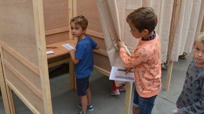 Leerlingen VBS Sint-Katrien naar de stembus