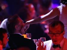 Moment complice entre Leonardo DiCaprio et Marion Cotillard