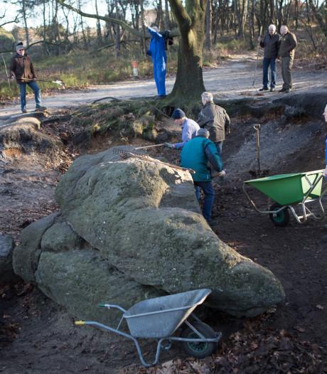 't Lemels Arfgoed laat geen gras groeien op 'de Dikke Steen'