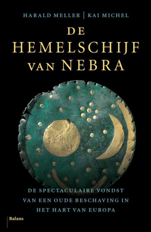 Omslag 'De hemelschijf van Nebra' Beeld TR BEELD