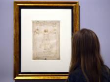 Les chiffres fous de l'exposition sur Léonard de Vinci au Louvre