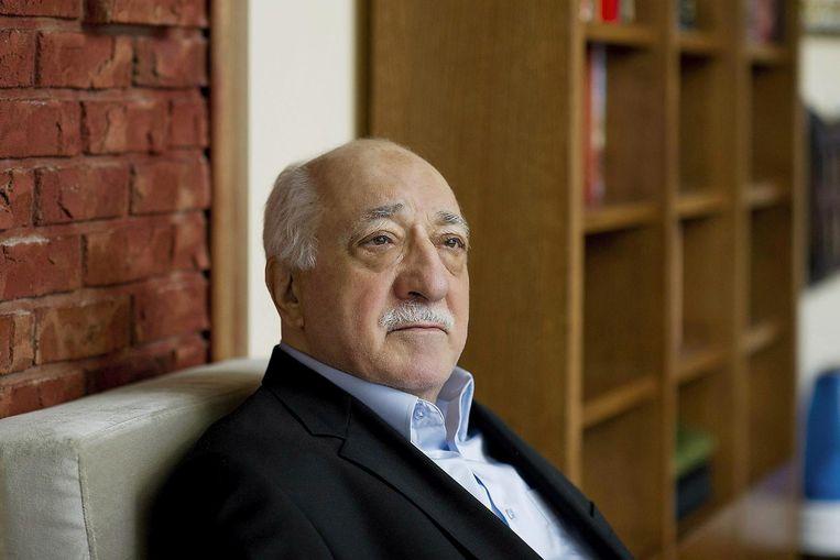 De geestelijke Fethullah Gülen. Beeld epa