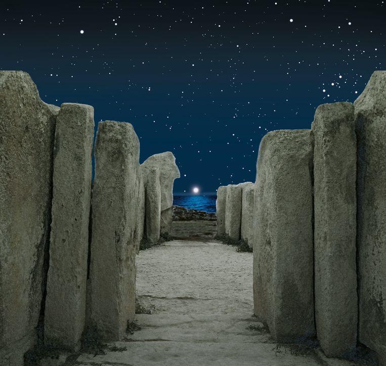 Maltezen bouwden hun tempels met uitzicht op de helderste ster: Sirius. Beeld