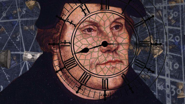 Beeld uit de film 'De erfenis van Luther' Beeld 'De erfenis van Luther'