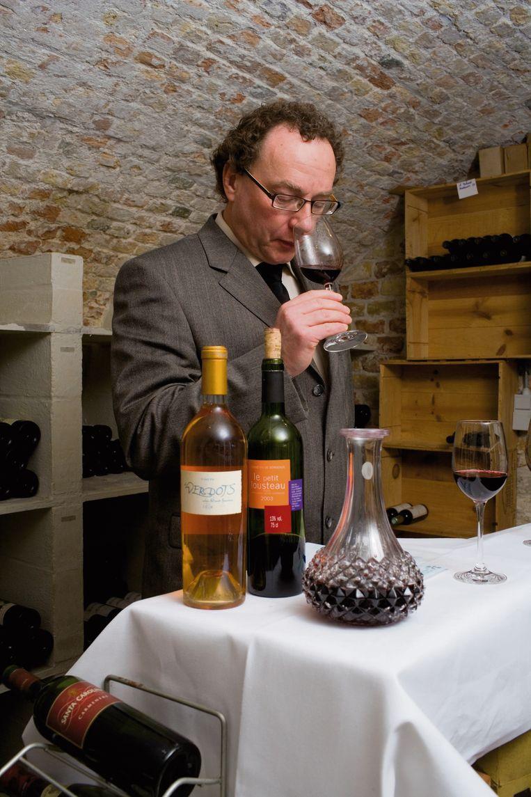 Wijnmeester Gido Van Imschoot.
