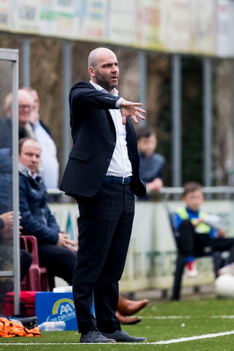 De vertrekkende coach Jochem Twisker Beeld Pro Shots / Joep Leenen
