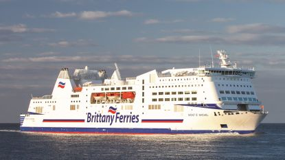 Brand aan boord van schip van Brittany Ferries