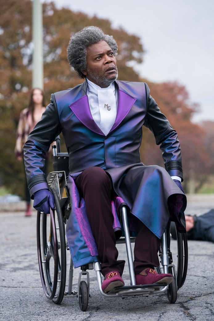 Samuel L. Jackson als Glass.