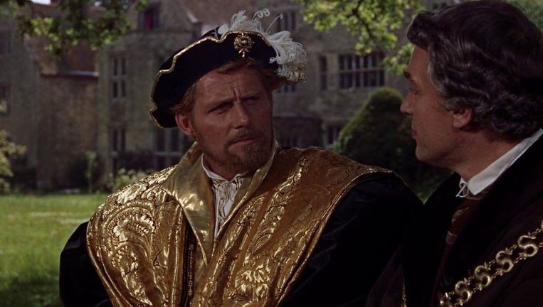 Robert Shaw in A Man for All Seasons. Beeld .