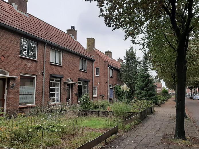 Huizen aan de IJssel de Schepperlaan.