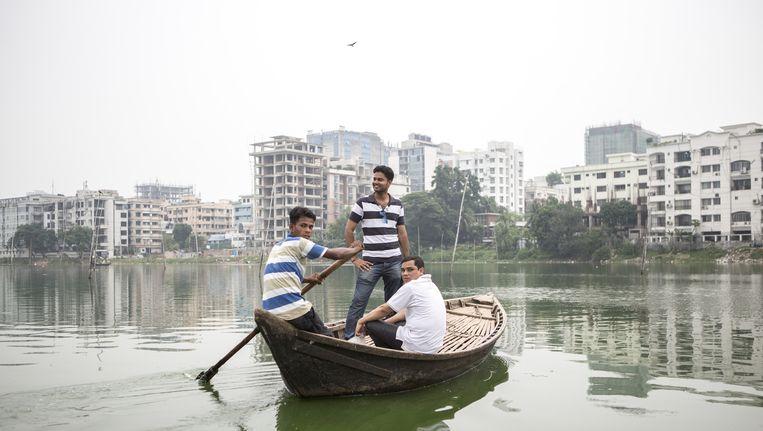Bangladesh worstelt nu al met klimaatverandering. Beeld Mike Roelofs