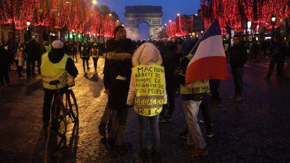 Nog 111 manifestanten zitten vast na negende actieweekend gele hesjes in Parijs