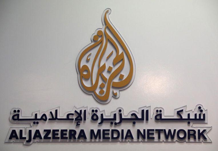 Het logo van Al Jazeera. Beeld reuters
