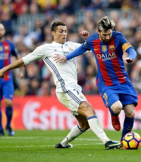 Messi moet het in Turijn zonder Ronaldo doen