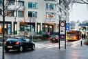 De knip tussen de Weeshuislaan en de Voorheuvel in Zeist, een van de verkeersmaatregelen in het centrum van Zeist.