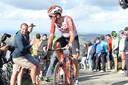 Brian van Goethem in september 2019 in actie, tijdens de dertiende etappe van de Ronde van Spanje.