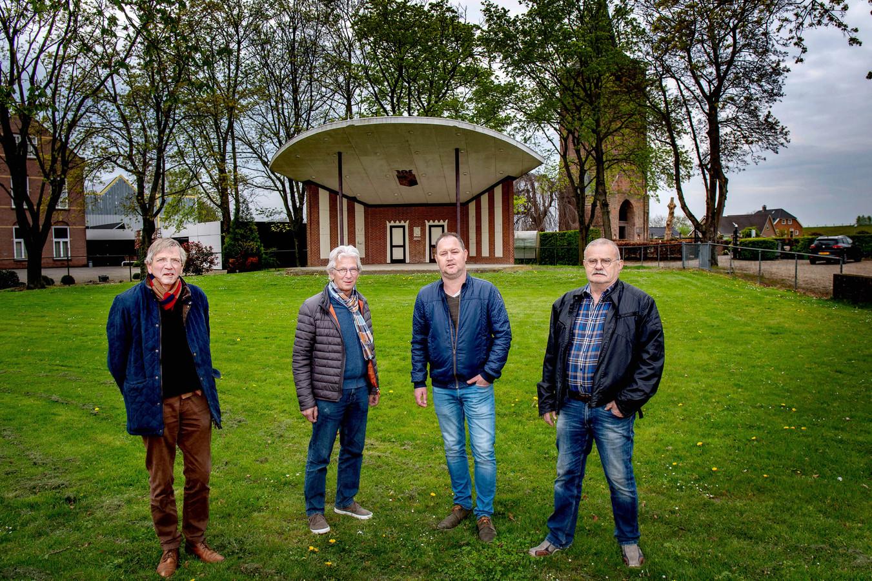 Ulto en de Stichting Historisch Besef Beuningen willen de muziekkoepel in Winssen opknappen.