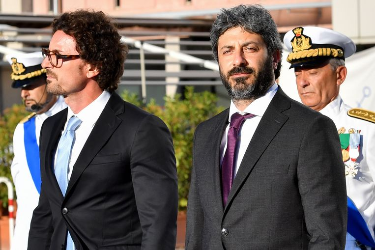 Danilo Toninelli (links).