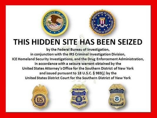 In oktober 2013 sloot de FBI de site Silk Road.
