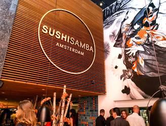 Foodwalhalla Sushi Samba is nu officieel open!