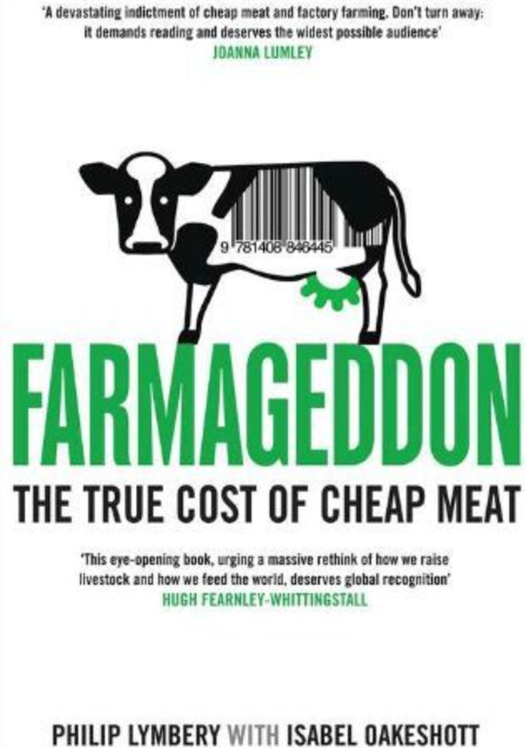 null Beeld Het boek 'Farmageddon' van Philip Lymbery