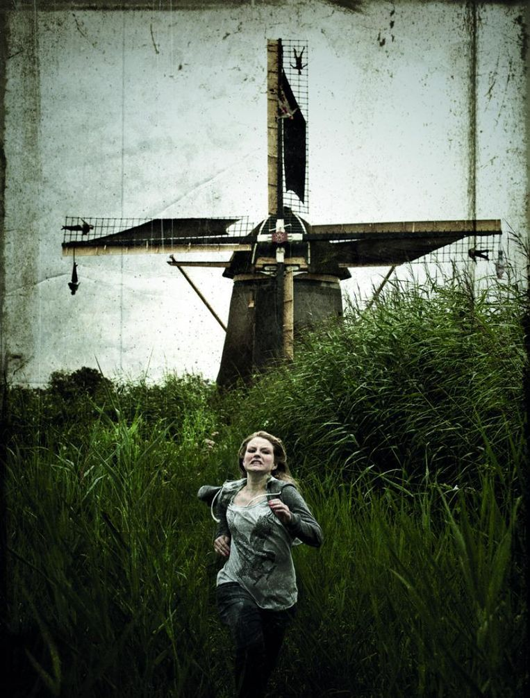 The Windmill Beeld Gijs van der Lelij