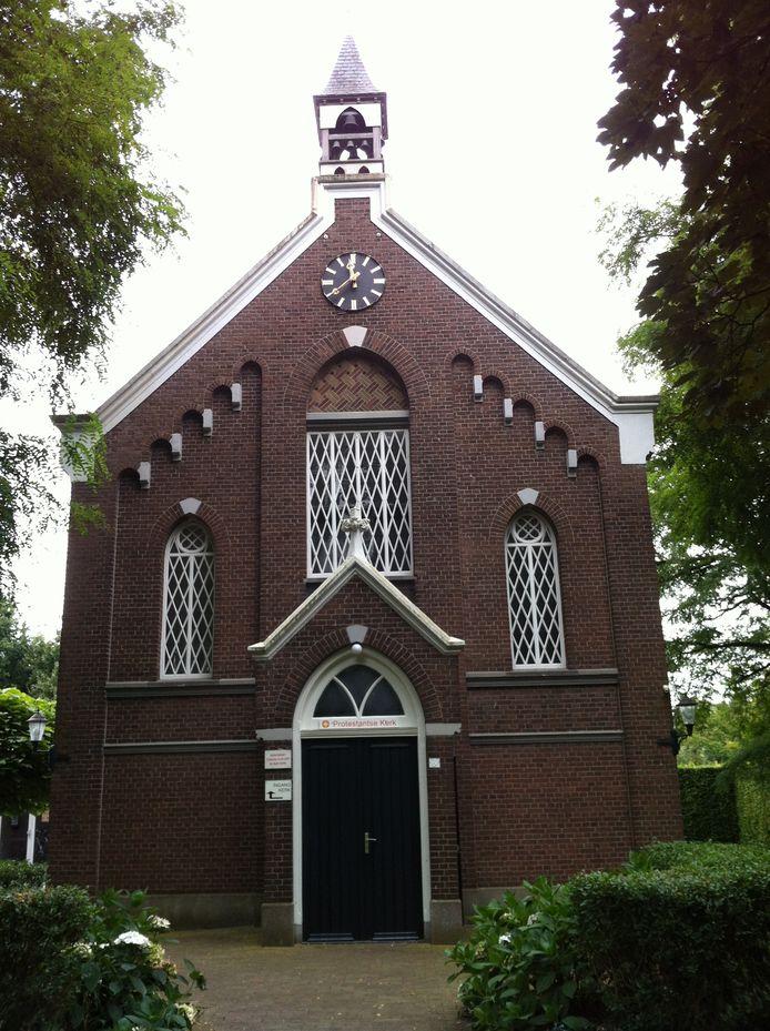 De protestantse kerk in Someren was tot de laatste plek bezet gisterochtend. protestantse kerk someren