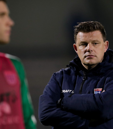 Knallen of vallen voor PEC Zwolle en John Stegeman in cruciale week